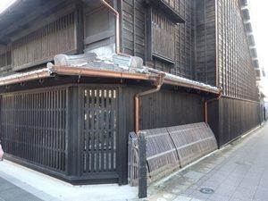 犬山城下町の古い建物