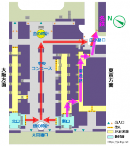 JR名古屋駅から犬山