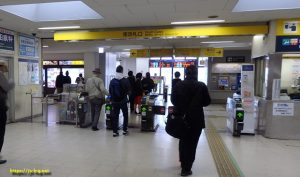 犬山駅南改札