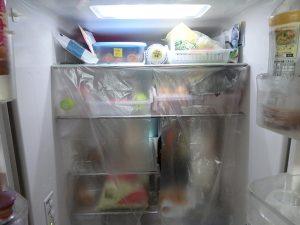冷蔵庫のカーテン